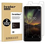 ivoler [Pack de 2] Verre Trempé pour Nokia 6.1 / Nokia 6 2018, Film Protection en Verre trempé...
