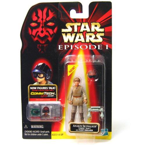 Star Wars Anakin Skywalker Naboo Pilot w/Flight Simulator 84246