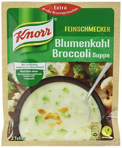 Knorr Feinschmecker-Suppe mit Blumenkohl und Broccoli, 48 g