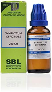 SBL Homeopathy Symphytum Officinale (30 ML) (Select Potency) by USAMALL (200 CH)