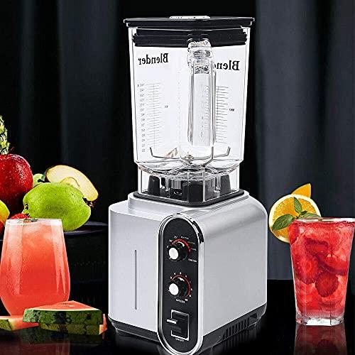 Batidora de vaso para smoothie Maker, 1,5 l, multifunción, licuadora de zumo, carne, picadora de hielo, 2200 W, 24 000 rpm