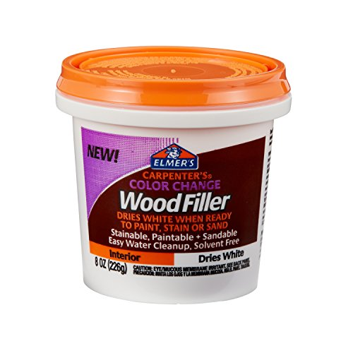 Elmer's Carpenter's Color Change Wood Filler, 8...