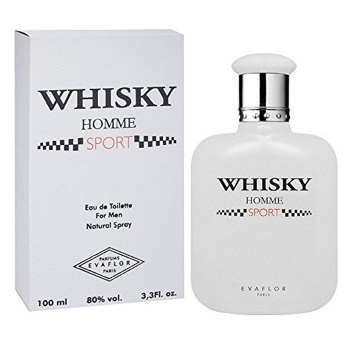 WHISKY SPORT • Eau de Toilette 100 ml • Vaporizador • Perfume para hombre • EVAFLORPARIS