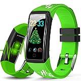 Orologio Fitness Smartwatch Uomo Donna, Smartwatch Orologio Fitness Tracker Cardiofrequenzimetro e...