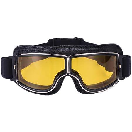 AILOVA Occhiali Vintage Dirt Bikes Occhiali da Moto Occhiali da Corsa Sport Occhiali Protettivi Occhiali Protettivi per Occhiali da Sole