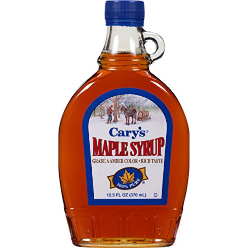 Cary's Pure Maple Syrup, Grade A Amber, 12.5 Ounce