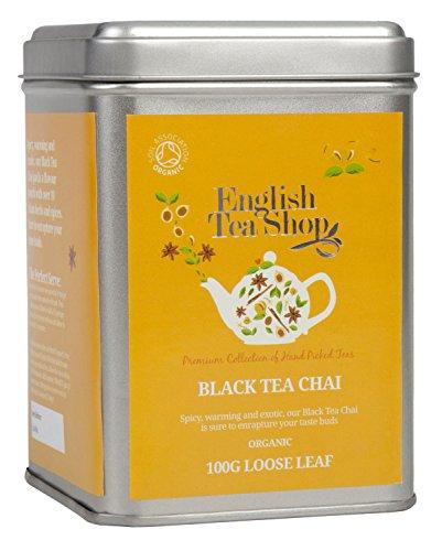 English Tea Shop - Black Tea Chai, BIO, Loser Tee, 100g Dose