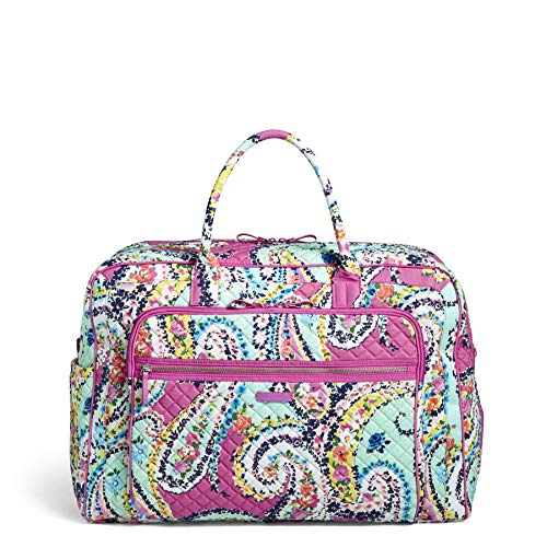 Vera Bradley Signature Cotton Grand Weekender Travel Bag, Wildflower Paisley