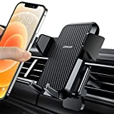Car Phone Mount, Joyroom Phone Car Holder for Air Vent Super Sturdy iPhone Car Mount with One Click Release Button Compatible with iPhone 11/11 Pro/Max/XS/SE/Samsung Galaxy Note/Google Pixel Etc