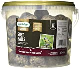 <span class='highlight'><span class='highlight'>Gardman</span></span> Energy Suet Fat Balls 50 Tub Bird Food, Natural, 27 x 27 x 21 cm