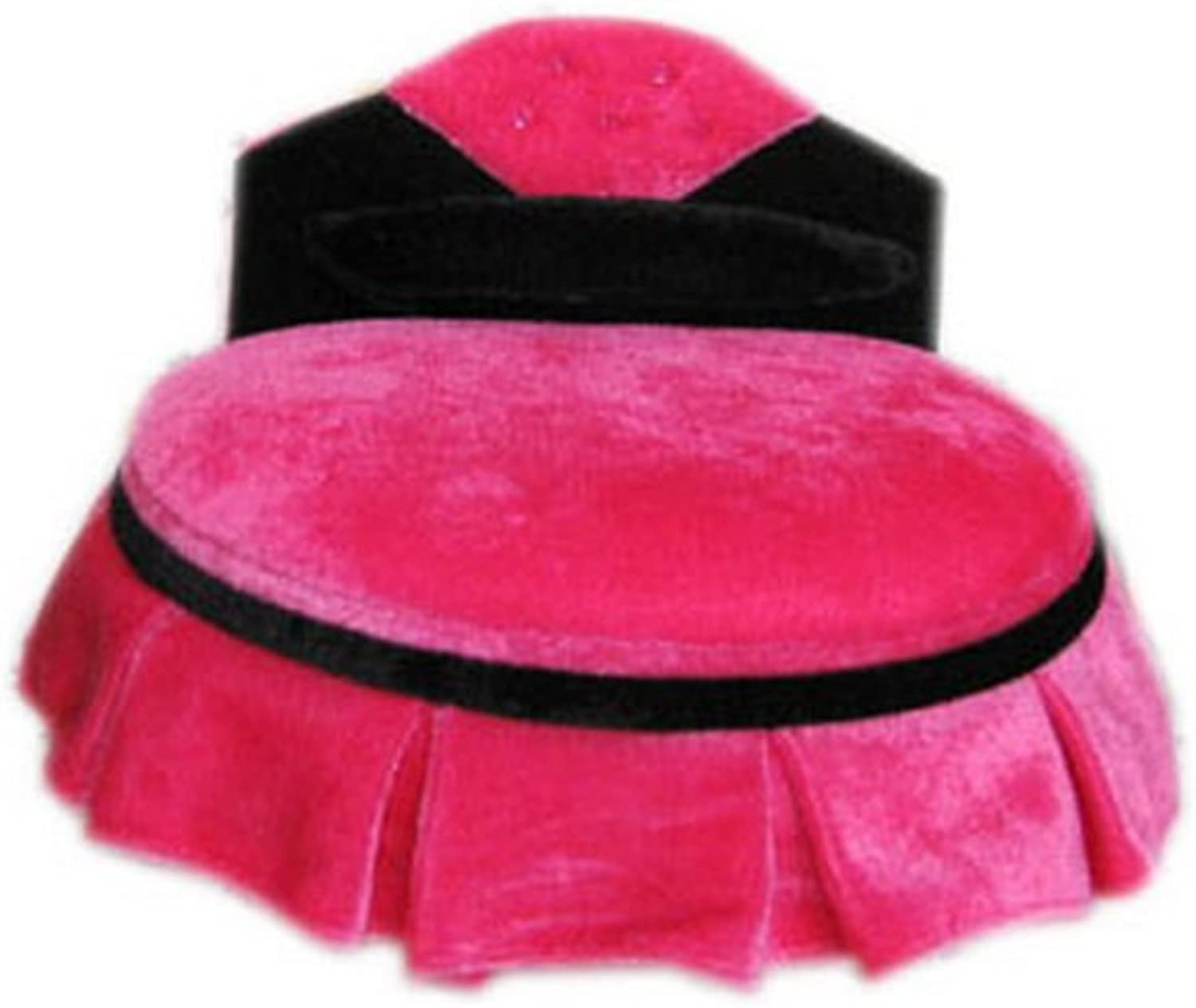 Fuchsia Princess Comfort Bed Round Soft Bed for Dolls