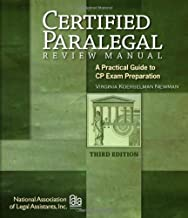 Certified Paralegal Review Manual: A Practical Guide to CP Exam Preparation (Test Preparation)