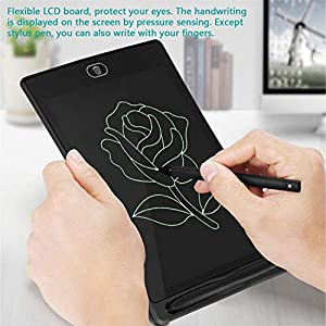 LCD Writing Tablet Drawing Board – Electronic Writing Board, 8.5″ Handwriting Tablet,Fridge Memo Note Pad at Home,Office