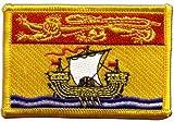 Flaggen Aufnäher Kanada Neubraunschweig Fahne Patch +