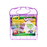 Crayola Mini Twistables Crayons & Paper Set, 65 Pieces, Gift for Kids
