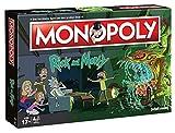 Monopoly - Rick and Morty - Deutsch - 6 Sammler Spielfiguren | Gesellschaftsspiel | Brettspiel