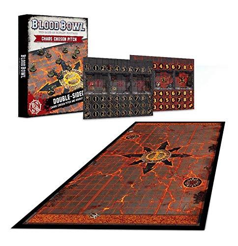 Warhammer Blood Bowl Blood Bowl Chaos Chosen Pitch & Dugout