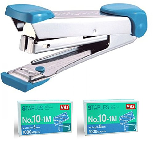 Quality Max HD-10 Stapler Set with 2 Boxes (2000) Staples.