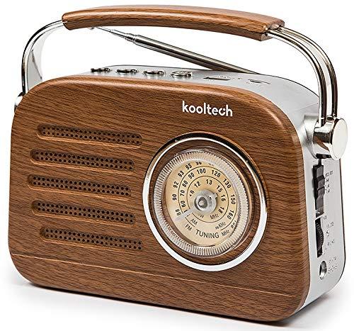 A-One Radio Bluetooth Am/SW/FM Pila Y Corriente con BATERÍA interna Recargable