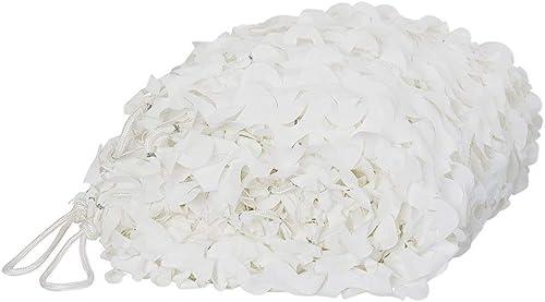 DGLIYJ Le Filet Blanc de Camouflage Peut être utilisé pour la Taille Personnalisable de décoration de Piscine de Plage d'école (Taille   4x10m)