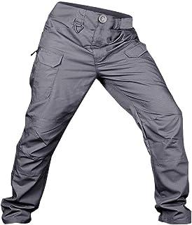 Pantalones de Trabajo de Hombre, A Prueba de Arañazos Impermeable Pantalón Chandal Hombre Pant para Al Aire Libre Cámping Alpinismo