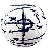 Best Sporting - Balón de fútbol táctico, tamaño 5, Color Blanco