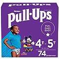 Pull-Ups Boys' Potty Training Pants Training Underwear , 4T-5T, 74 Ct by Kimberly-Clark Corp.