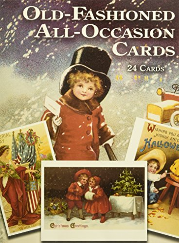 Old-Fashioned All-Occasion Cards: 24 Cards (Dover Postcards)