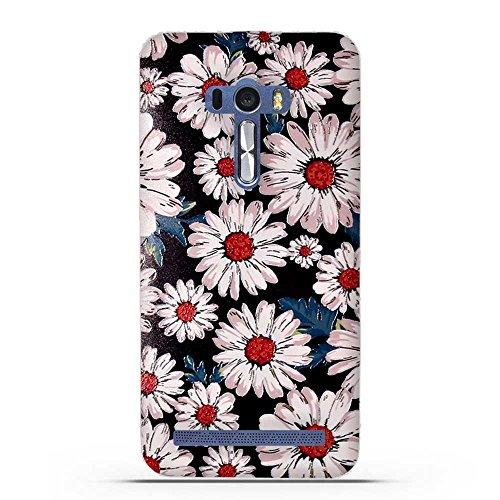 Fubaoda ASUS ZenFone Selfie ZD551KL Hülle, 3D Erleichterung Ästhetisch Muster TPU Case Schutzhülle Silikon Case für ASUS ZenFone Selfie ZD551KL