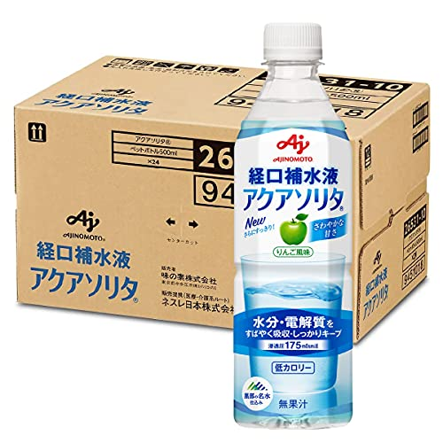 味の素 アクアソリタ 500mLx24本