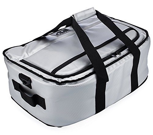 AO Coolers Stow-N-Go Cooler, Carbon Silver, 38-Can