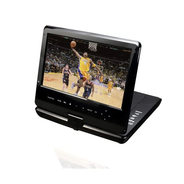 Portable 10-Inch Blu-Ray DISC/DVD Player (Black) 4