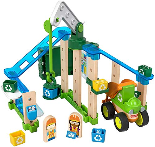 Fisher-Price Wonder Makers Design System Lift & Sort Recycling Center Now $12.78 (Was $24.99)