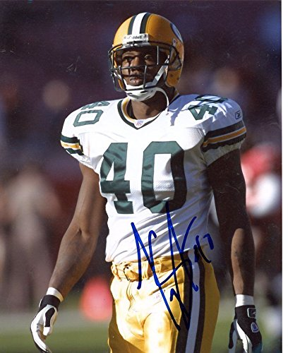 TONY FISHER #40 GREEN BAY PACKERS SIGNED AUTOGRAPHED 8X10 PHOTO W/COA