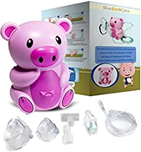 Weezy Pig Children's Cool Mist Compressor Nebulzer Includes 5 Filters, Travel Case, and All Necessary Accessories!!