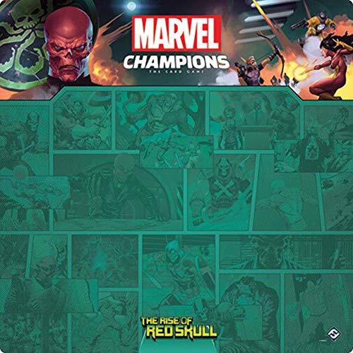 Fantasy Flight Games - Marvel Champions : Tapis de Jeu : The Rise of Red Skull - Jeu de Cartes