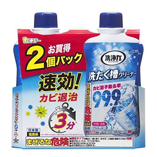 洗浄力洗たく槽クリーナー洗濯機洗濯洗濯槽クリーナー550g×2個