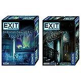 KOSMOS EXIT 2er Set 694036 692865 Die unheimliche Villa + Die Station im ewigen Eis -