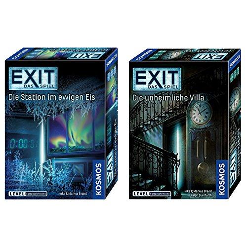 KOSMOS EXIT 2er Set 694036 692865 Die unheimliche Villa + Die Station im ewigen Eis