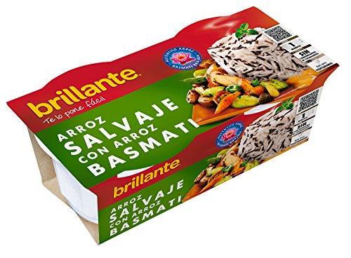 Brillante Arroz Salvaje Con Arroz Basmati 125G X 2 - [Pack De 8] - Total 2 Kg