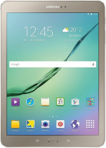 Samsung Galaxy Tab S2 Gold Edition T815N 24,6 cm (9,7 Zoll) Tablet-PC LTE (2 Quad-Core Prozessoren, 1,9GHz + 1,3GHz, 3GB RAM, 32GB, Android 5.0) gold