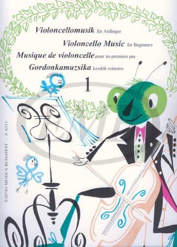 Violoncellomusik für Anfänger. Violoncello, Klavier