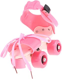 Lovoski 4 Wheels Roller Skates Double Row Sliding Shoes Toys for Boys Girls