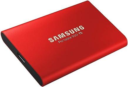 Samsung MU-PA500R 500 GB Rojo - Unidades externas de Estado sólido (500 GB, USB Tipo C, 3.1 (3.1 Gen 2), 540 MB/s, Protección Mediante contraseña, Rojo)