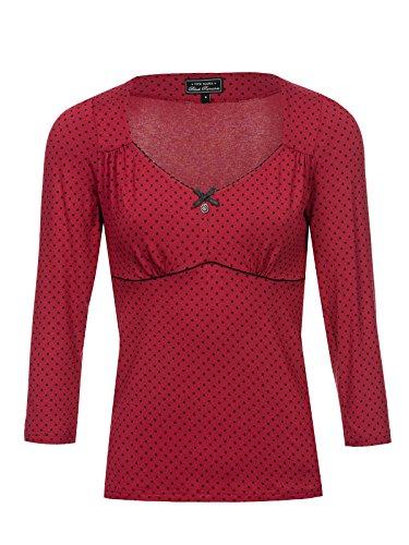 Preisvergleich Produktbild Vive Maria American Beauty 3 / 4-Arm Shirt rot,  Größe:XXL