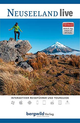 Preisvergleich Produktbild Neuseeland live - ComboBOX: Reise- und Wanderführer (digitale Versionen: Hörbuch,  E-Book,  App