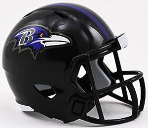 Riddell Baltimore Ravens NFL Football Helmet Christmas Tree DIY Ornament