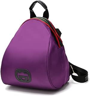 Backpack Weitine Brand Casual Nylon Daypack Shell bag for Women - Lightweight (purple)