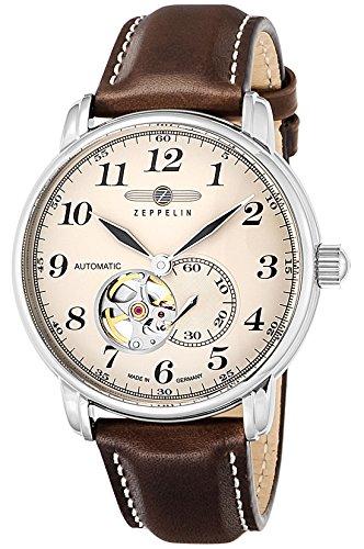 [ツェッペリン] 腕時計 LZ126 LosAngeles 7666-5 並行輸入品 ブラウン
