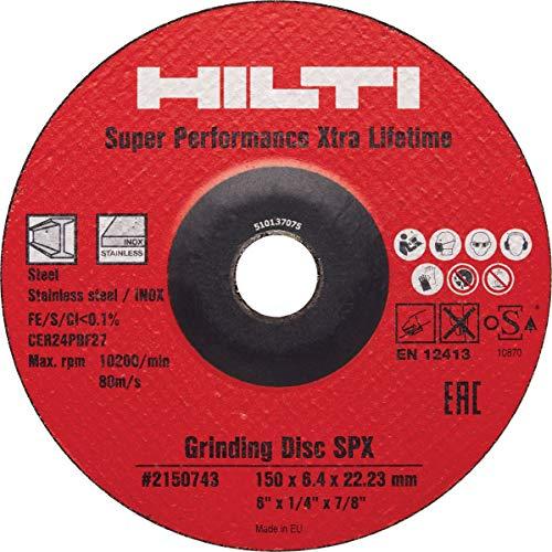 Hilti Schleifscheibe AG-D SPX 150x6.4, 10 Stück, 2150743
